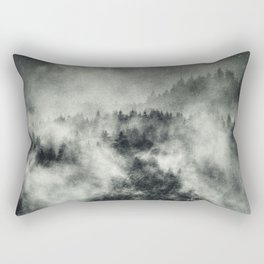 Recently // Dark Boogie Edit Rectangular Pillow