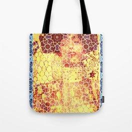 Gustav Klimt & Persian Ceramic Art inspired Tote Bag