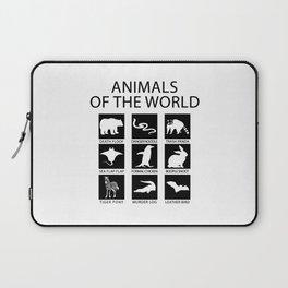 RARE ANIMALS OF THE WORLD Laptop Sleeve