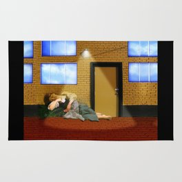Bouguereau's Sleeping Beauty Rug
