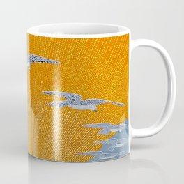 """Wings of Victory"" Art Deco Design Coffee Mug"