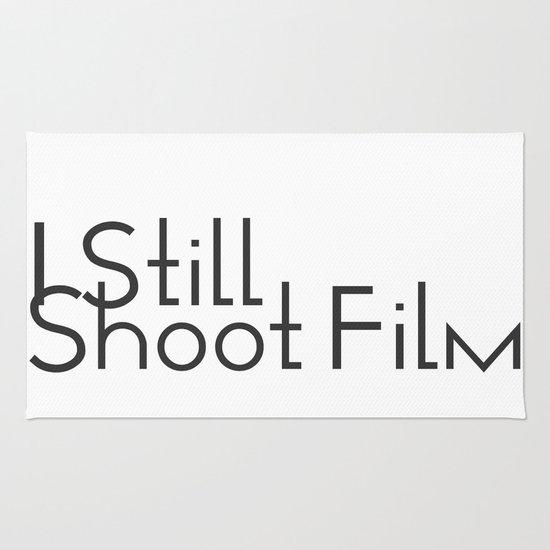 I Still Shoot Film! Rug