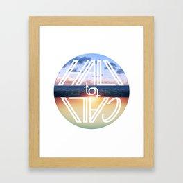 Hali to Cali Framed Art Print