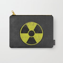 Grunge Radioactive Sign Carry-All Pouch