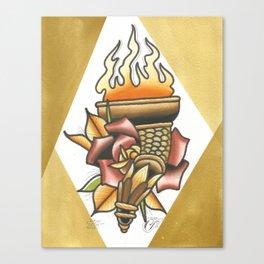 Torch Canvas Print
