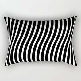 Bent Out Of Shape Rectangular Pillow