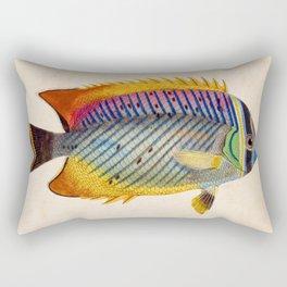 Blue Fish Rectangular Pillow