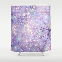 waldo Shower Curtains featuring Each Moment of the Year Has Its Own Beauty by soaring anchor designs