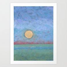 Abstract Landscape VI Art Print