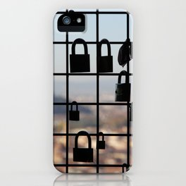 Locks in Florence iPhone Case