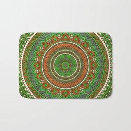Hippie mandala 80 Bath Mat