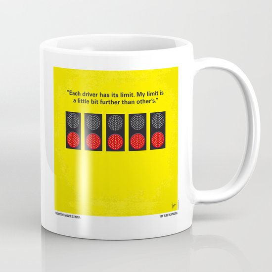 No075 My senna minimal movie poster Mug