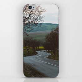 Along a rural road - Landscape and Nature Photography iPhone Skin