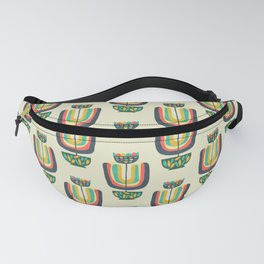 Potted Plant 3 Fanny Pack