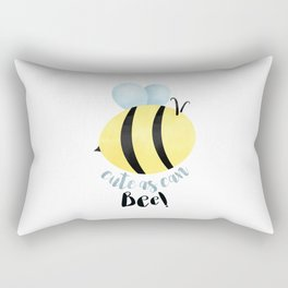 Cute As Can Bee! Rectangular Pillow