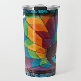 Burst of Color Travel Mug