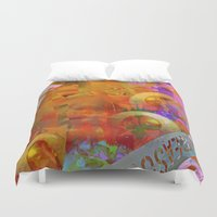 weird Duvet Covers featuring Weird by Ganech joe