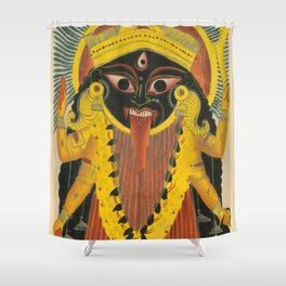 Kali Goddess Vintage Shower Curtain