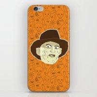 freddy krueger iPhone & iPod Skins featuring Freddy Krueger by Kuki