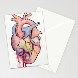 Toxic Heart Stationery Cards