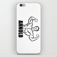 arnold iPhone & iPod Skins featuring Arnold Schwarzenegger  |  AHNOLD by Silvio Ledbetter