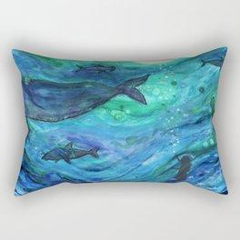 """""""Dreams of the Deep"""" Rectangular Pillow"""
