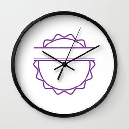 """""""All Things Are Given According To Your Thinking"""" tee design. Makes a nice and unique gift too!  Wall Clock"""