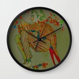 bats' homicidal girlfriend Wall Clock