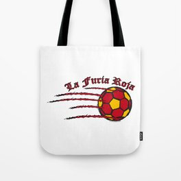 Spain La Furia Roja (The Red Fury) ~Group B~ Tote Bag
