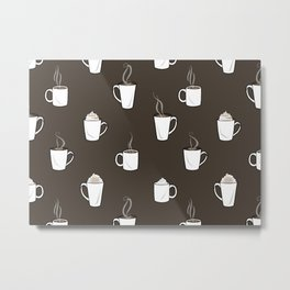 Coffees Metal Print