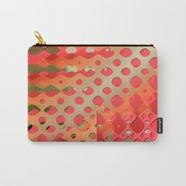 strawberry bubblegum waves Carry-All Pouch