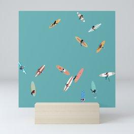 Surfing Saturdays Mini Art Print