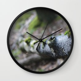 Hiking for photographs Wall Clock