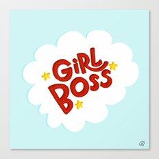 Girl Boss Canvas Print