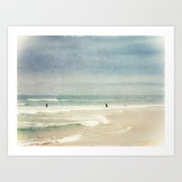 surf Art Prints featuring Surf by Dirk Wuestenhagen Imagery