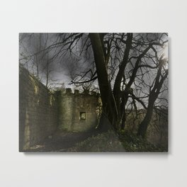 Castles in my Mind Metal Print