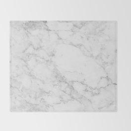 White Marble Edition 2 Throw Blanket