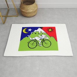 The 1943 Bicycle Lsd Rug