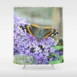 Butterfly III Shower Curtain