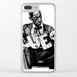 Blues Greats - Mississippi Fred McDowell Clear iPhone Case