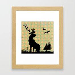 Deer 1 Framed Art Print
