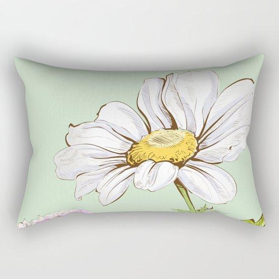 Flowers 103 Rectangular Pillow