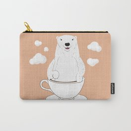Take a Cup of Bear Carry-All Pouch