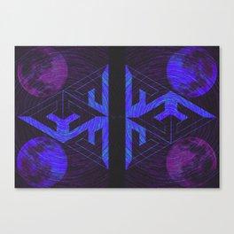 Flying V Canvas Print