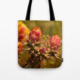 Cacti in Bloom - II Tote Bag