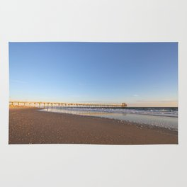 Golden Hour by the Seashore Rug