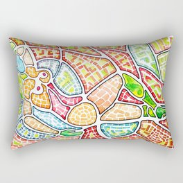 Geo_Metric_Map-11 Rectangular Pillow