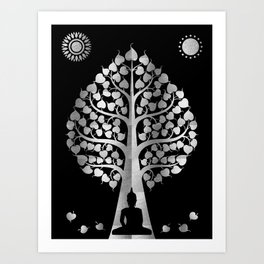 Bodhi Tree0405 Art Print