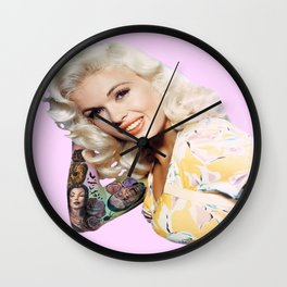 the price of fame Wall Clock