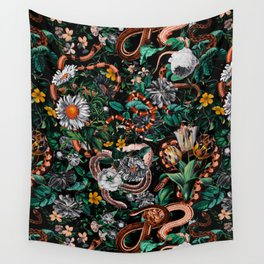Dangers in the Forest V Wall Tapestry